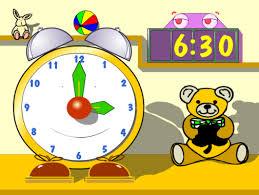 Aprendiendo a manejar el reloj