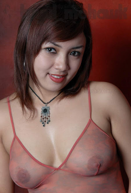 Pose Bikini Model Cantk Semok