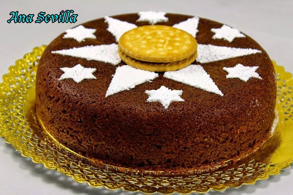 Bizcocho Príncipe de galletas rellenas Ana Sevilla Thermomix, tradicional y olla GM