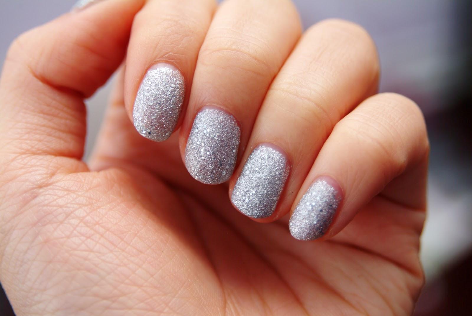 Modern Diamond Dust Nails Images - Nail Art Ideas - morihati.com
