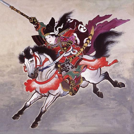 Tomoe Gozen seorang prajurit perang wanita yang berasal dari jepang