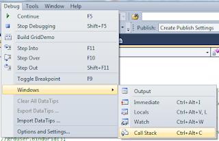 As You Can See The Image With Help Of Call Stack Window Will Get Information About Method Called What Is Parameter Value