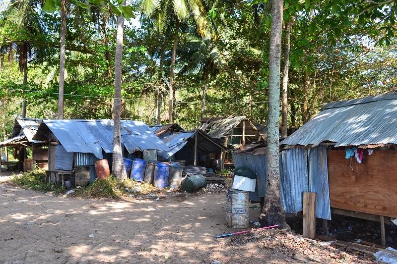 Krabi, Thailande, Pine bungalow, plage