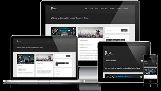 Nova Free WordPress theme 2014