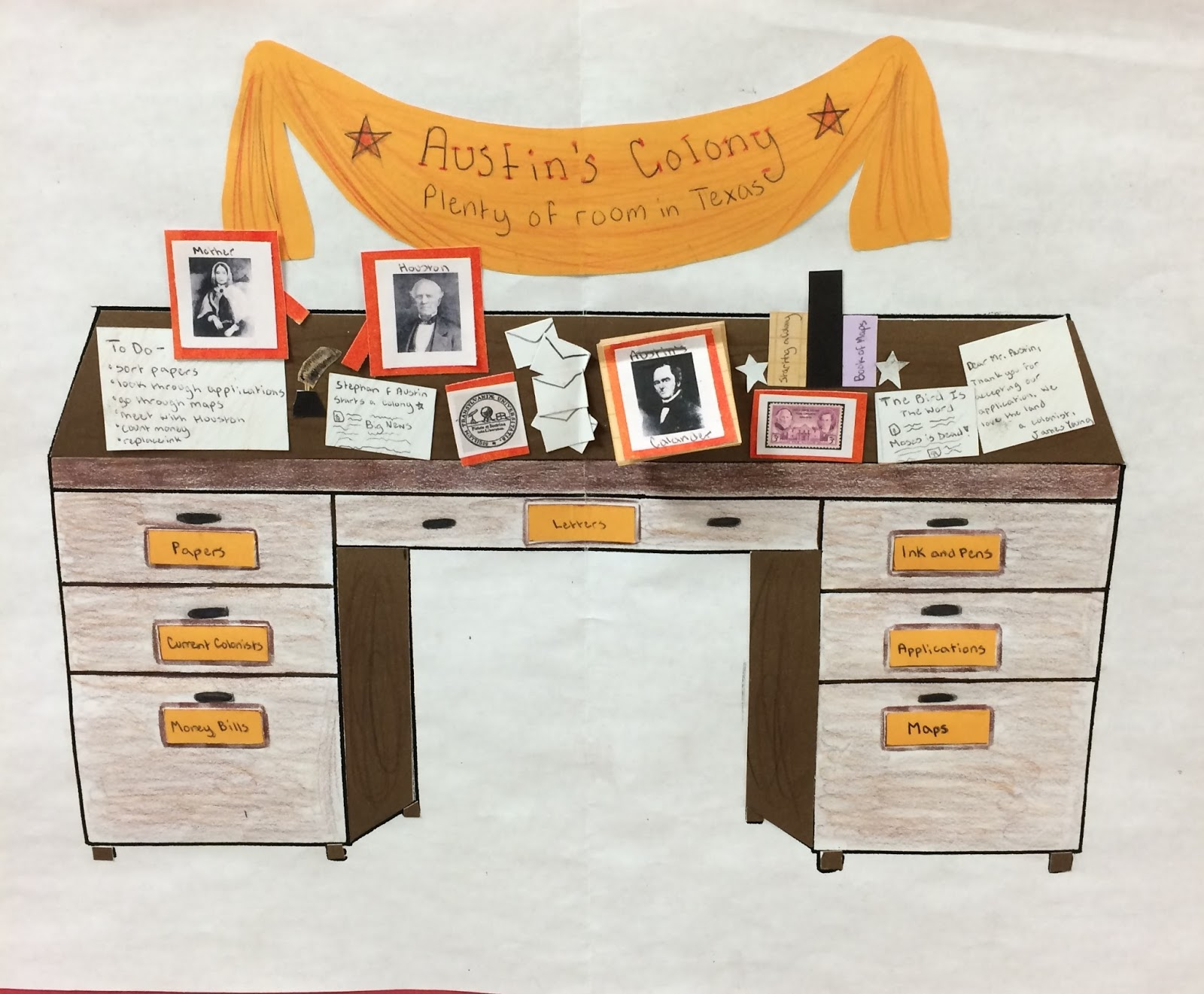 Famous Person S Desk Social Studies Success