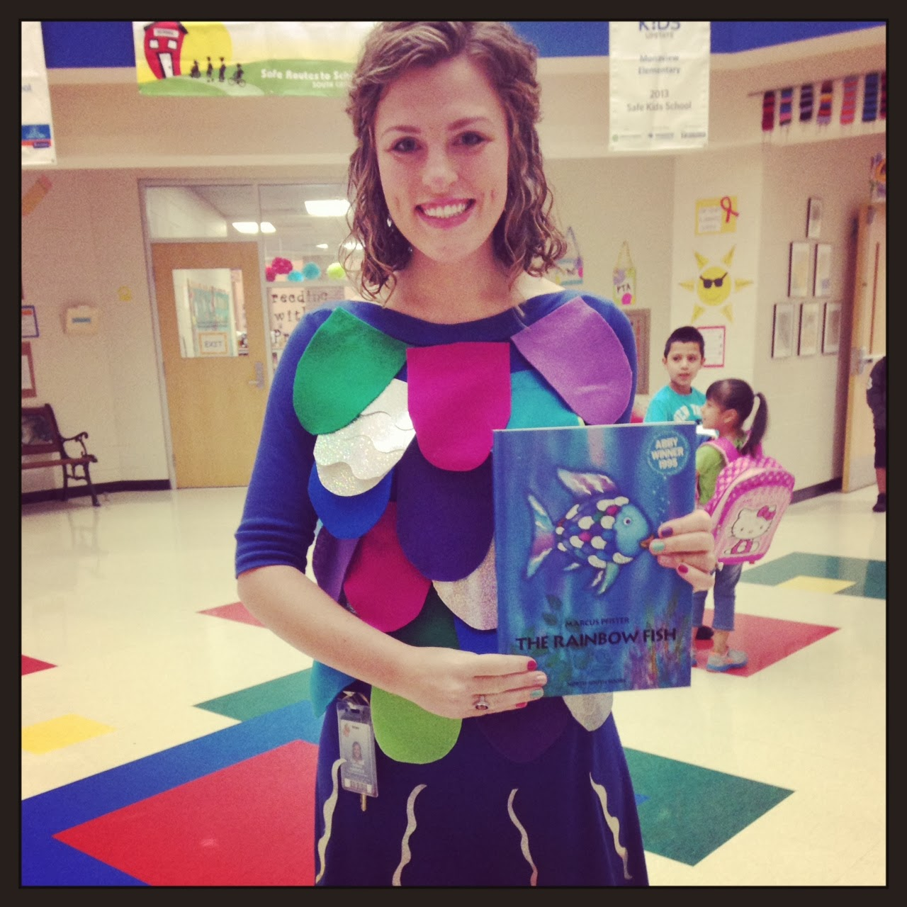 Confessions of a school counselor a snapshot of october for Rainbow fish costume