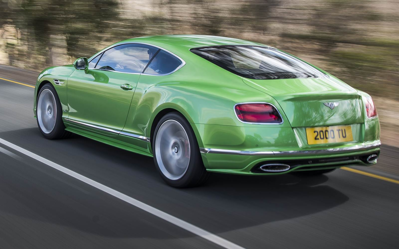 Bentley Continental GT W12 Speed 2016