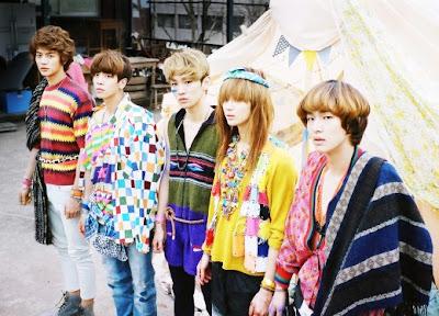 SHINee members Sherlock
