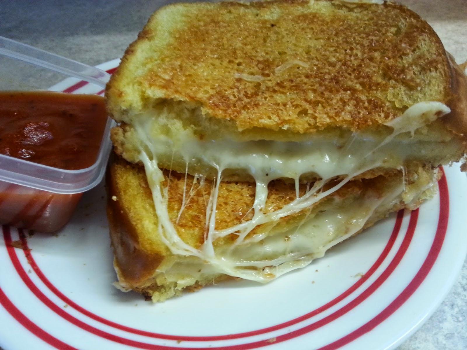 Redi-Set-Go Recipes: Parmesan-Crusted Grilled Mozzarella ...