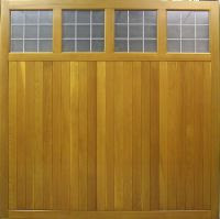 Click for the Cedar Ashbourne Garage Door