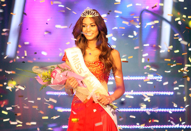 Miss Mundo World Chile 2012 winner Camila Recabarren