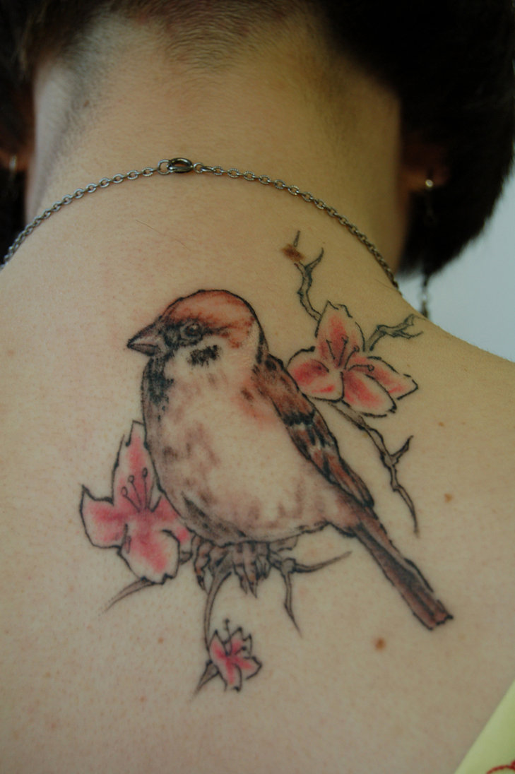 Sparrow Tattoos Ideas