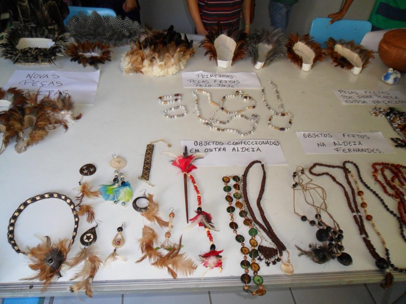 O Que Mais Vende Em Artesanato ~ Ponto de Memória MK Exposiç u00e3o Artesanato indígena kanindé