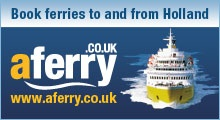 Book ferries to Holland with AFerry.co.uk