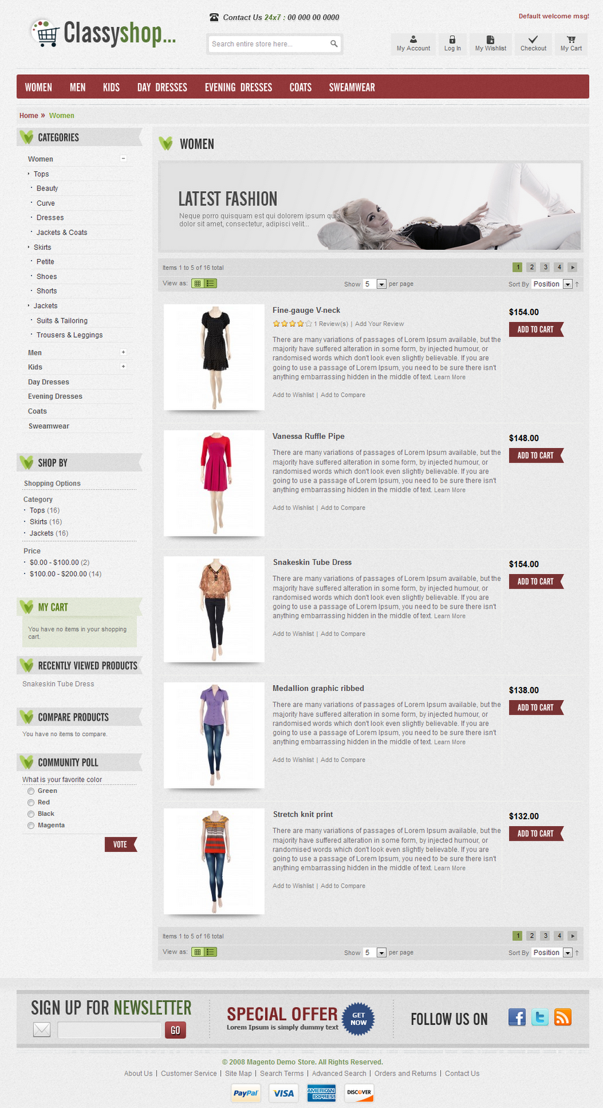 Online-Clothes-Store-Magento-Template