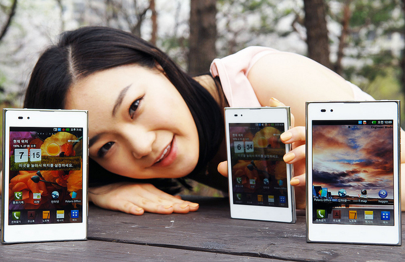 LG Optimus Vu White Color Released in Korea