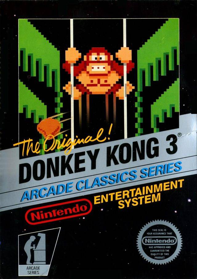neko random donkey kong 3 nes review. Black Bedroom Furniture Sets. Home Design Ideas