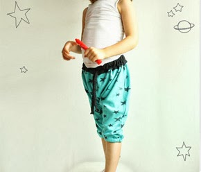 Harem pants pattern