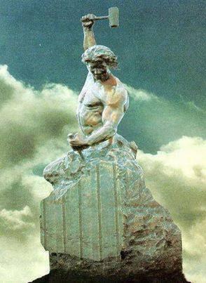 art. sculpture, creation,