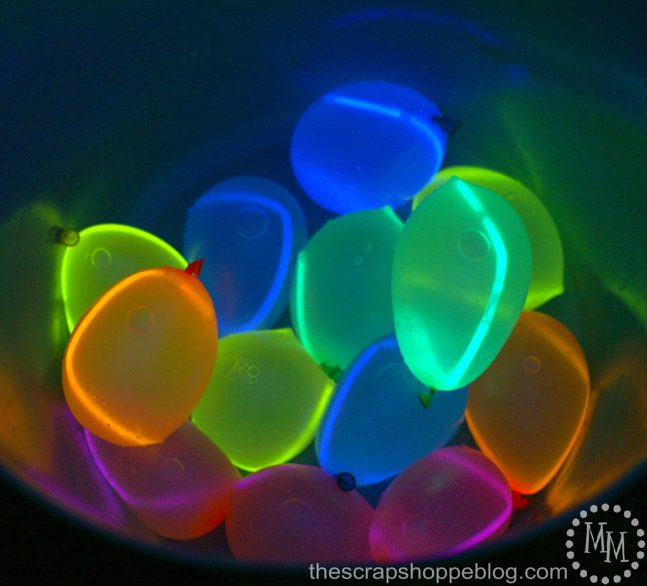 Glow Stick In Balloon