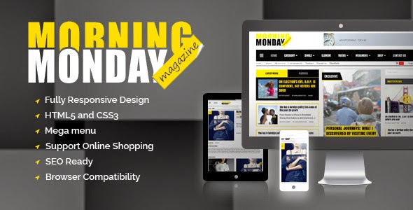 download Monday Morning Magazine - WordPress Theme