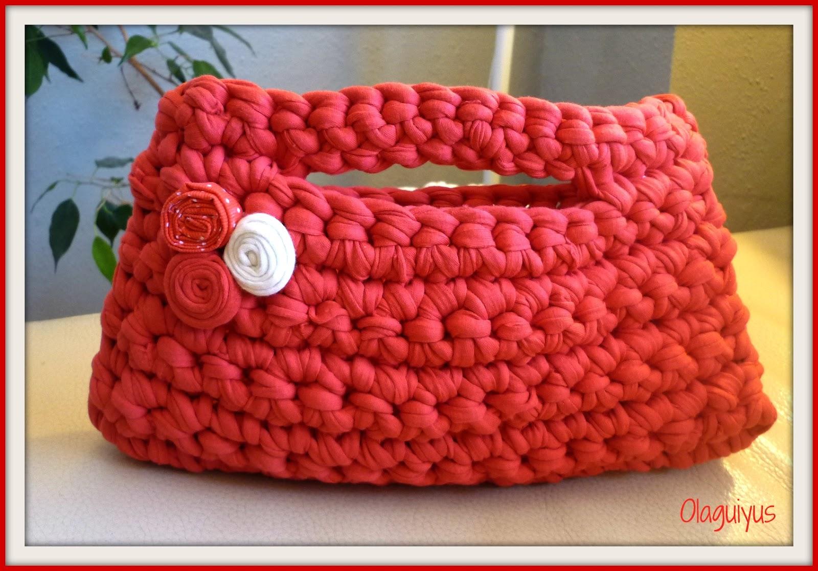 mi cosa preferida bolsos trapillo en rojo verde y rosa