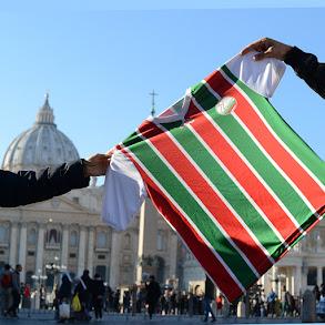 Camisa do Pato no Vaticano