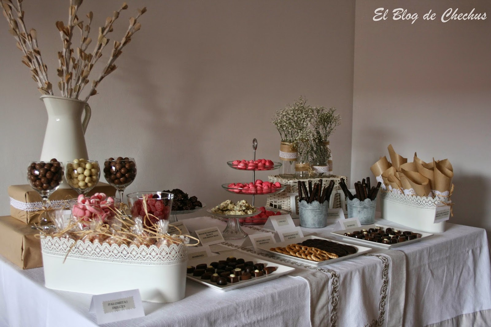 Chechus cupcakes valencia for Dulce boda