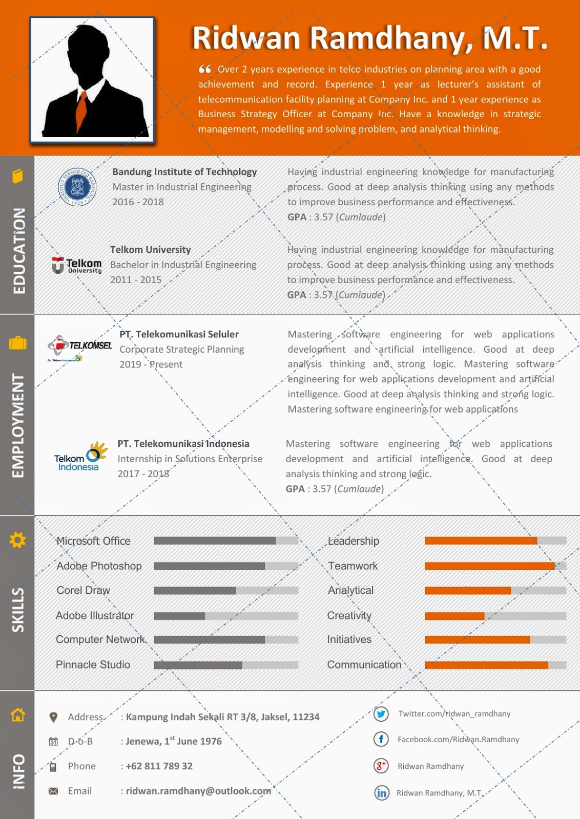 best cv template nz