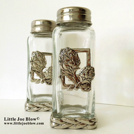 artichoke salt and pepper shakers sold by little joe blow photo 4