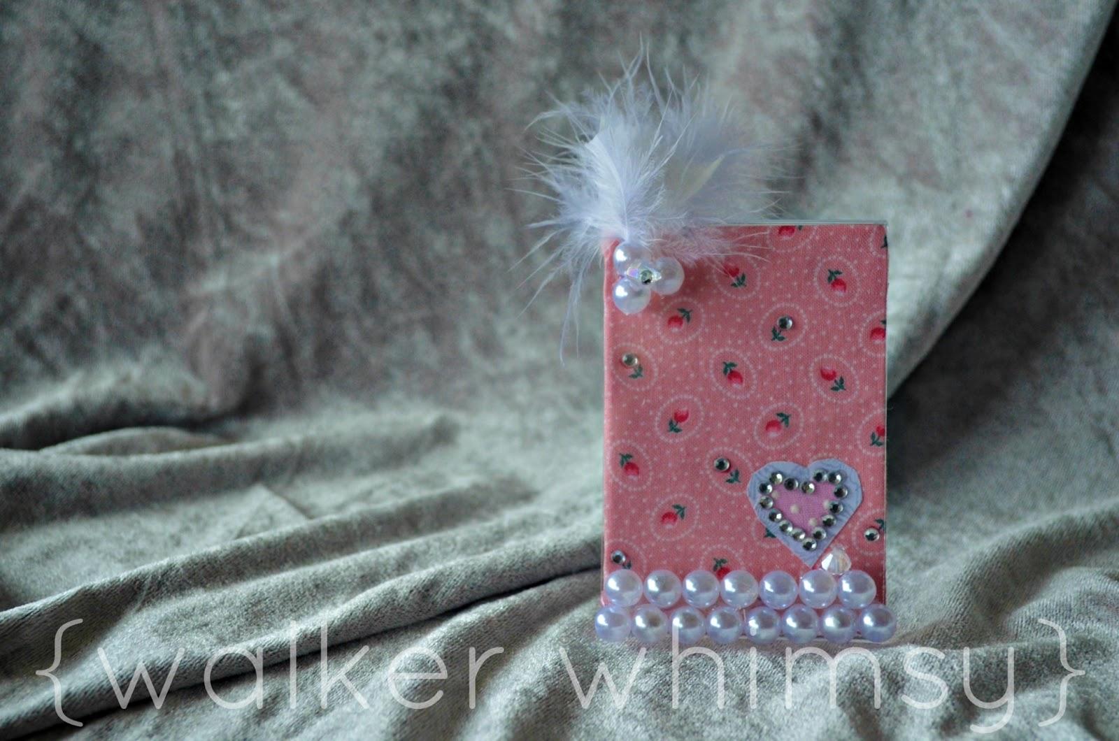 walker whimsy}: Embellished Photo Frames