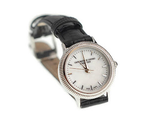 Silver Case Women's Oxford Watch