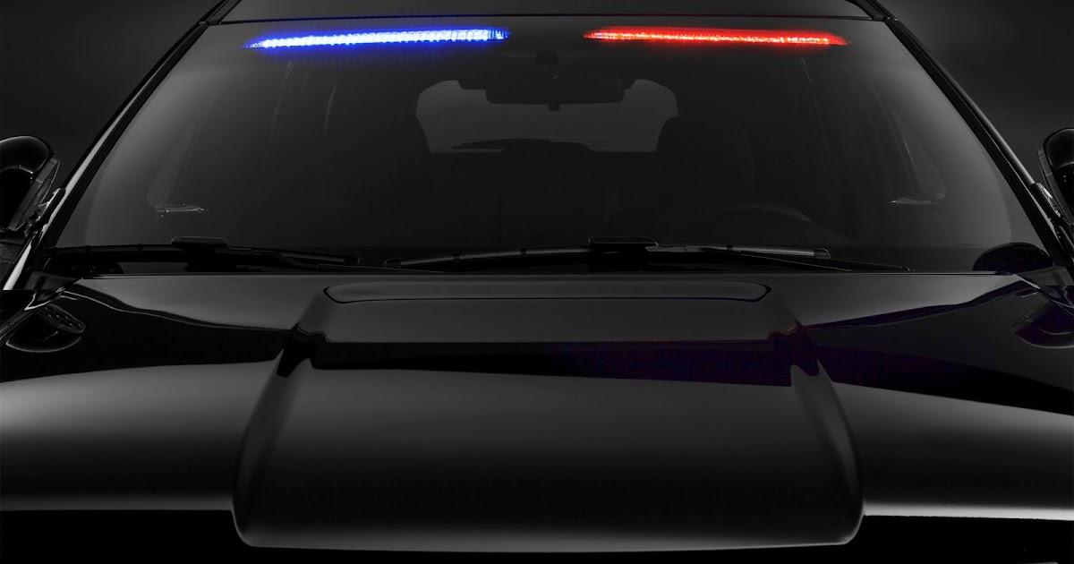 Autos am ricaines blog ford police interceptor utility un gyrophare sur le pare brise