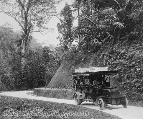 GAMBAR KLASIK SEJARAH PERKHIDMATAN BAS PERTAMA DI PAHANG 1907 1910