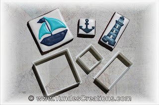 Nautical puzzle cookies by Tunde Dugantsi