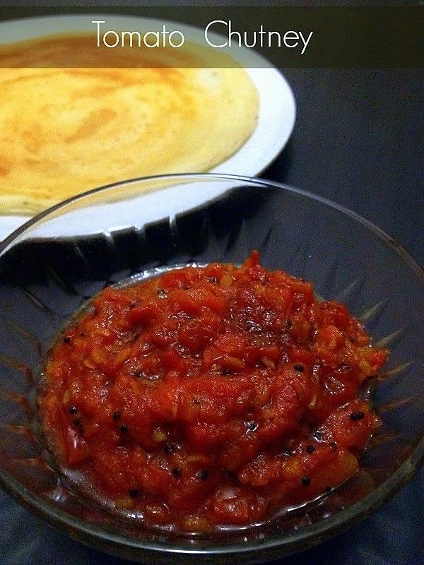 Tomato Thokku  |  Thakkali Thokku