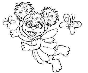 #10 Abby Cadabby Coloring Page