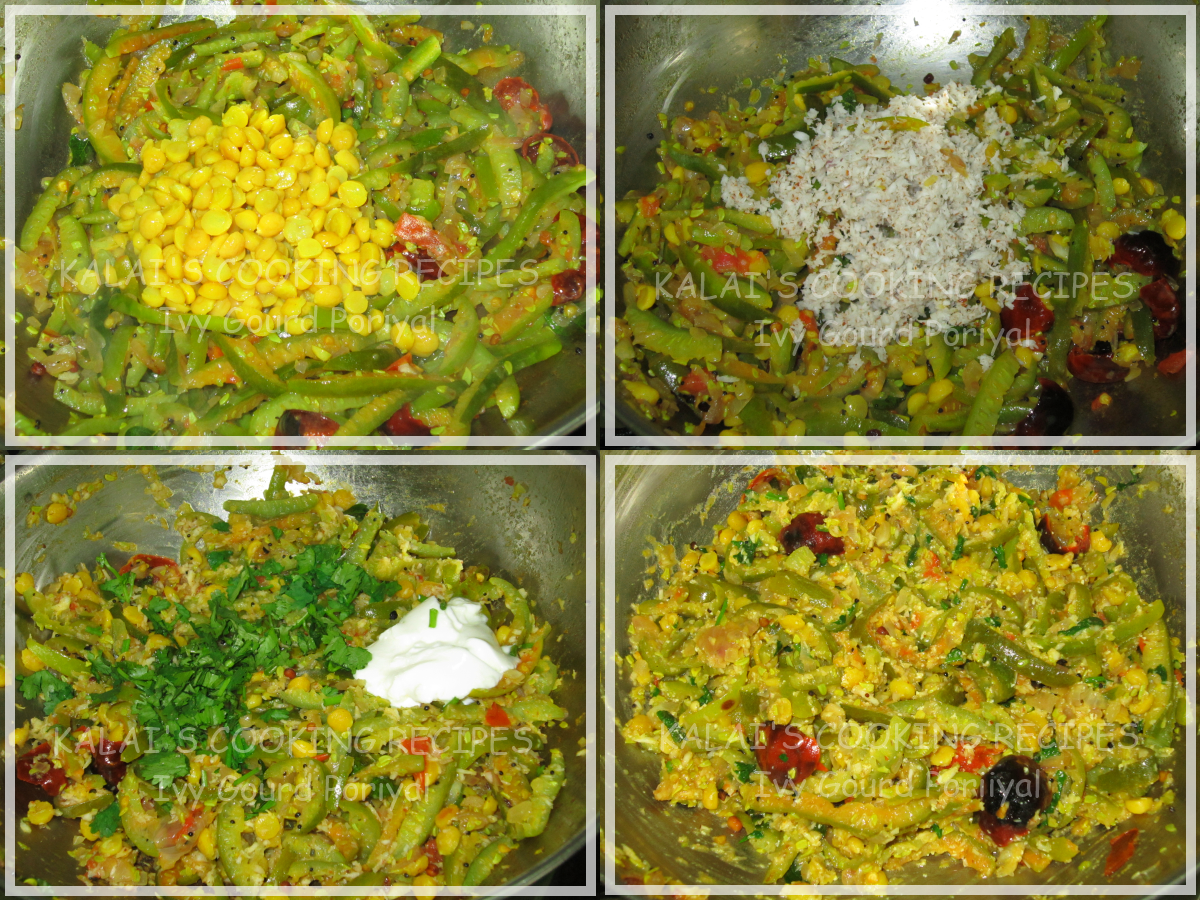 Ivy Gourd Recipe Ivy Gourd Poriyal With Bengal