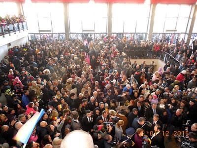 Gara din Craiova a fost plina