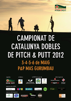Cartel Campeonato Catalunya Dobles Pitch & Putt 2012