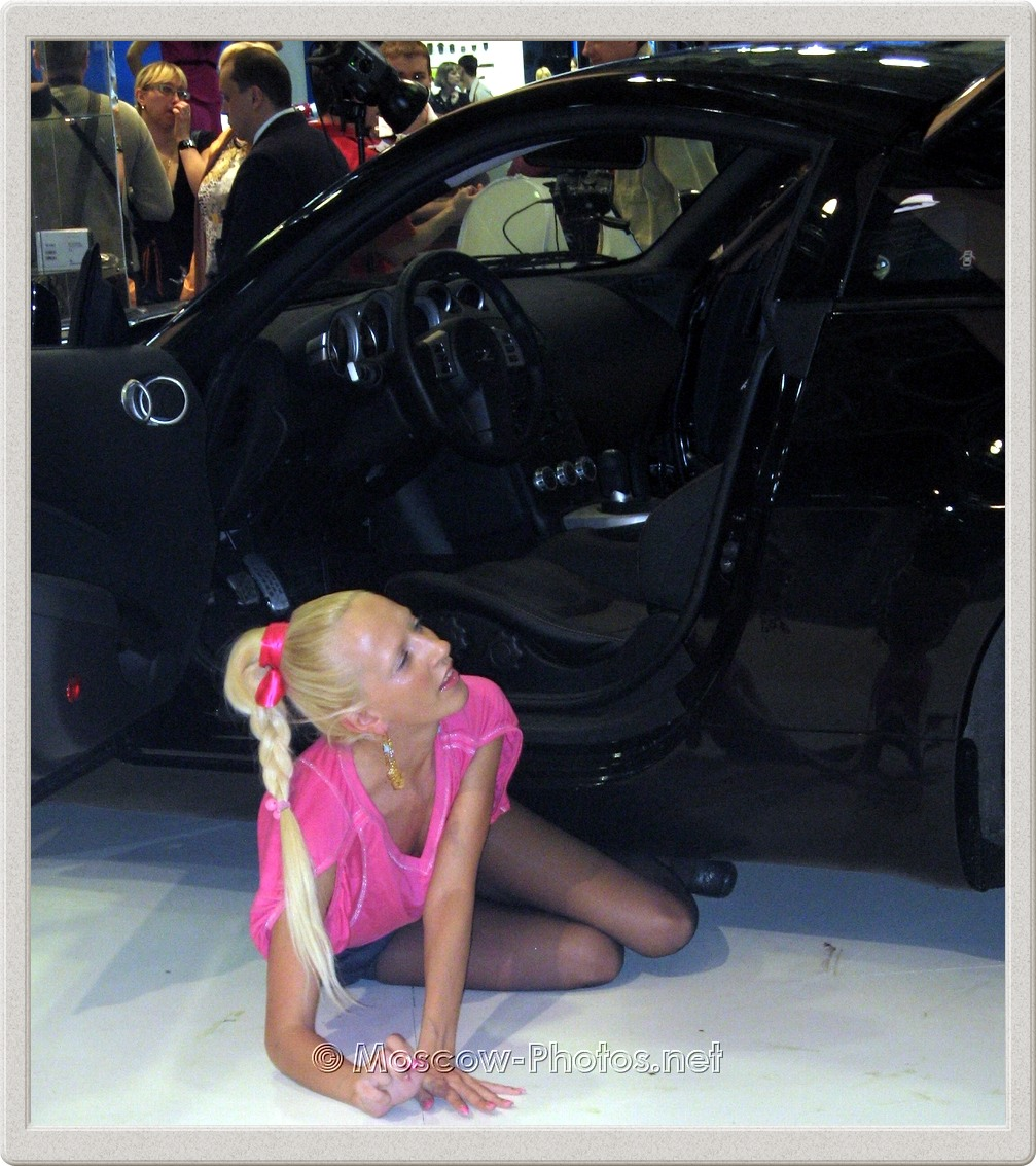 Blonde Model Posing at Photoforum - 2008