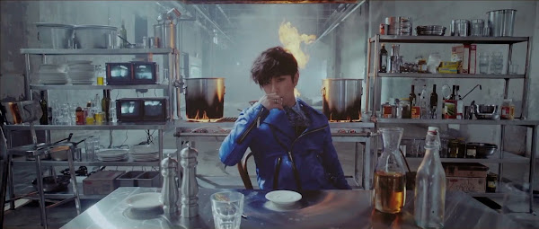 Shinhwa's Dongwan in the Sniper Music Video