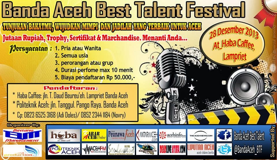Banda Aceh Best Talent Festival