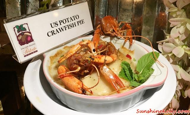 US Potato Culinary Festival Kuala Lumpur 2015, US Potato, Sheraton Imperial Hotel, Kuala Lumpur, US Potato Crawfish Pie, Secret of Lousiana