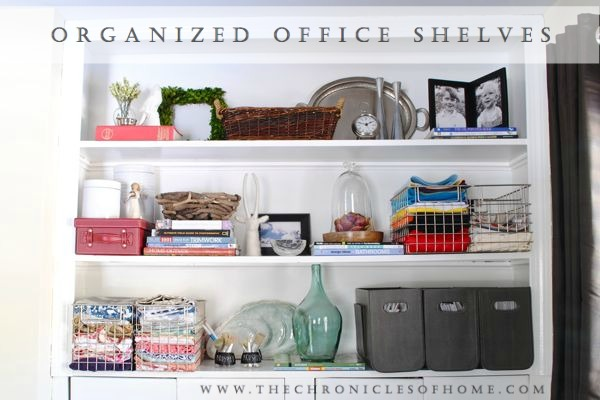 The Chronicles of Home: Home Office Organization