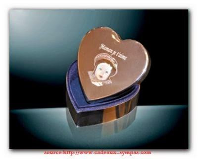 Cadeau mariage: Boite à bijoux