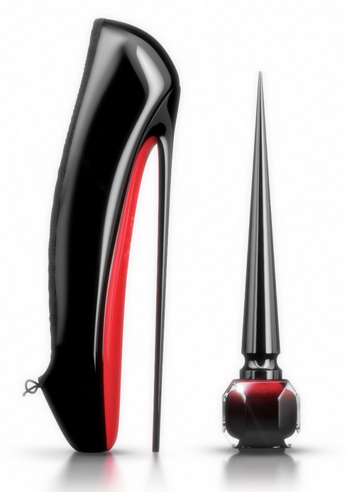Vernis à ongles Rouge Louboutin Christian Ballerina Ultima red nail polish
