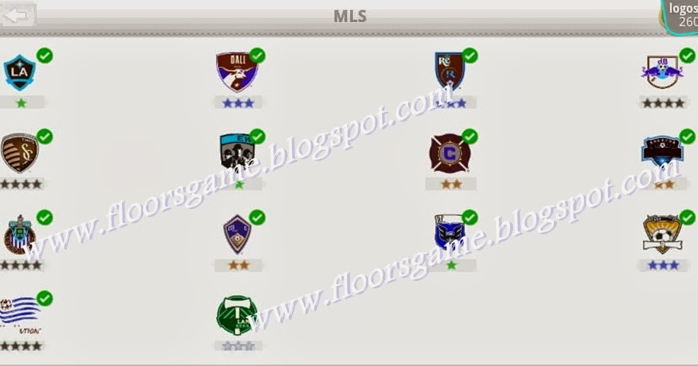 Logo Quiz Football Clubs Mls Level 9