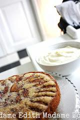 Fyriskaka - Äppelkaka