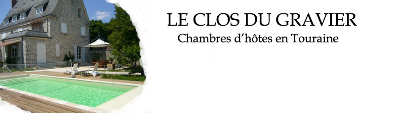 chambres d 39 h tes sur tours pr sentation 39 le clos du gravier 39. Black Bedroom Furniture Sets. Home Design Ideas